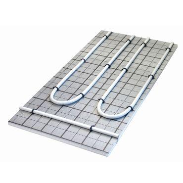 Warmwasser Fußbodenheizung HoWaTech TAC Systemplatte 20mm EPS