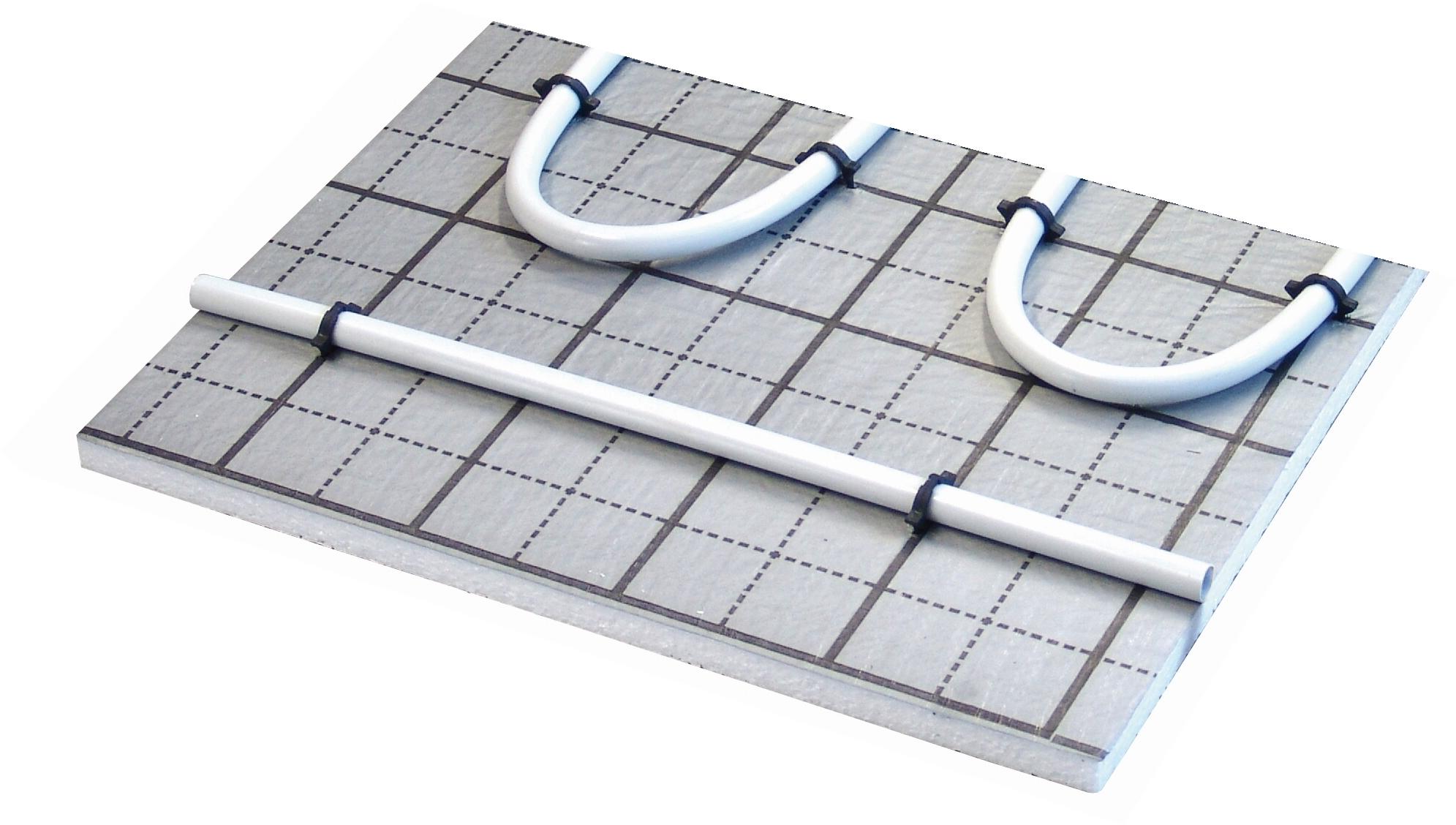 Warmwasser Fu/ßbodenheizung HoWaTech TAC 5m/²