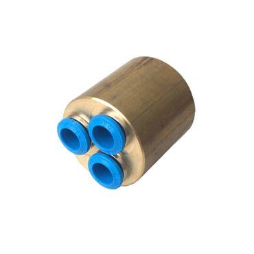 HoWaTech Metall Verteiler (für 8mm-Rohr) 3-fach – Bild 3