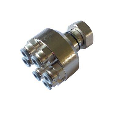 HoWaTech Metall Verteiler (für 8mm-Rohr) 6-fach – Bild 4