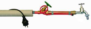 selbstlimitierende Rohrbegleitheizung | Frostschutz Heizkabel bis 30m Stecker Thermostat