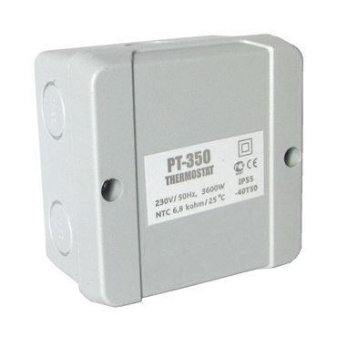 Elektrische Dachrinnenheizung mit Thermostat | Frostschutz 20 W/m | zum Schutz vor Frostschäden – Bild 4