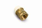 Rohrverbinder Steckverbinder | Adapter mit Innengewinde | für Kunststoffrohr Verbundrohr ø 16x2 20x2 25x2,5 26x3