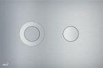 AlcaPlast TURN Betätigungsplatte | Drückerplatte für WC Spülkasten | Design Serie FLAT