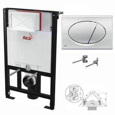 WC Montageelement zur Eckmontage mit Betätigungsplatte (Serie M7) – Bild 13