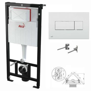 WC Montageelement zur Eckmontage mit Betätigungsplatte (Serie M37) – Bild 6