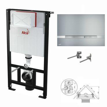 WC Montageelement zur Eckmontage mit Designer-Betätigungsplatte (Serie Flat) – Bild 14
