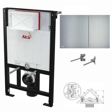 WC Montageelement zur Eckmontage mit Designer-Betätigungsplatte (Serie Flat) – Bild 16