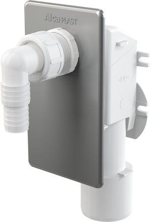 AlcaPlast APS3 Gerätesiphon Unterputz DN 40 50mm Abwasseranschluss für Waschmaschine, Spülmaschine etc. – Bild 1