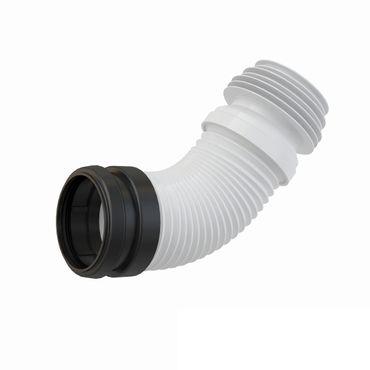 AlcaPlast A9006 WC Flex-Anschlußstutzen 230-450mm | für WC-Spülkasten Vorwandelement – Bild 1