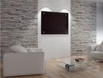 Infrarot Glasheizkörper Wand Heizpaneele 55x70 500W viele Farben und als Spiegel 001