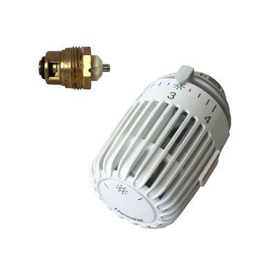 Heimeier Retro S - Set Thermostatkopf K & Oberteil für DN15 und DN20 – Bild 1