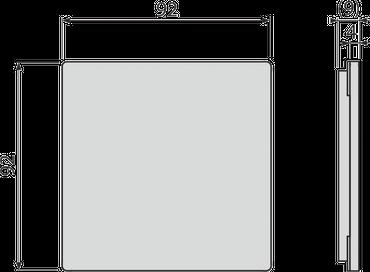 Edelstahl Bodenablauf / Duschablauf (extra flach - nur 81mm) inkl. Edelstahlrost – Bild 12