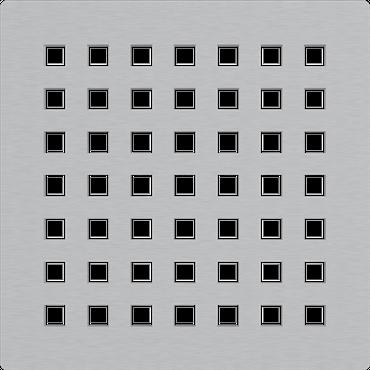 Edelstahl Bodenablauf / Duschablauf (flach - nur 105mm) inkl. Edelstahlrost – Bild 14