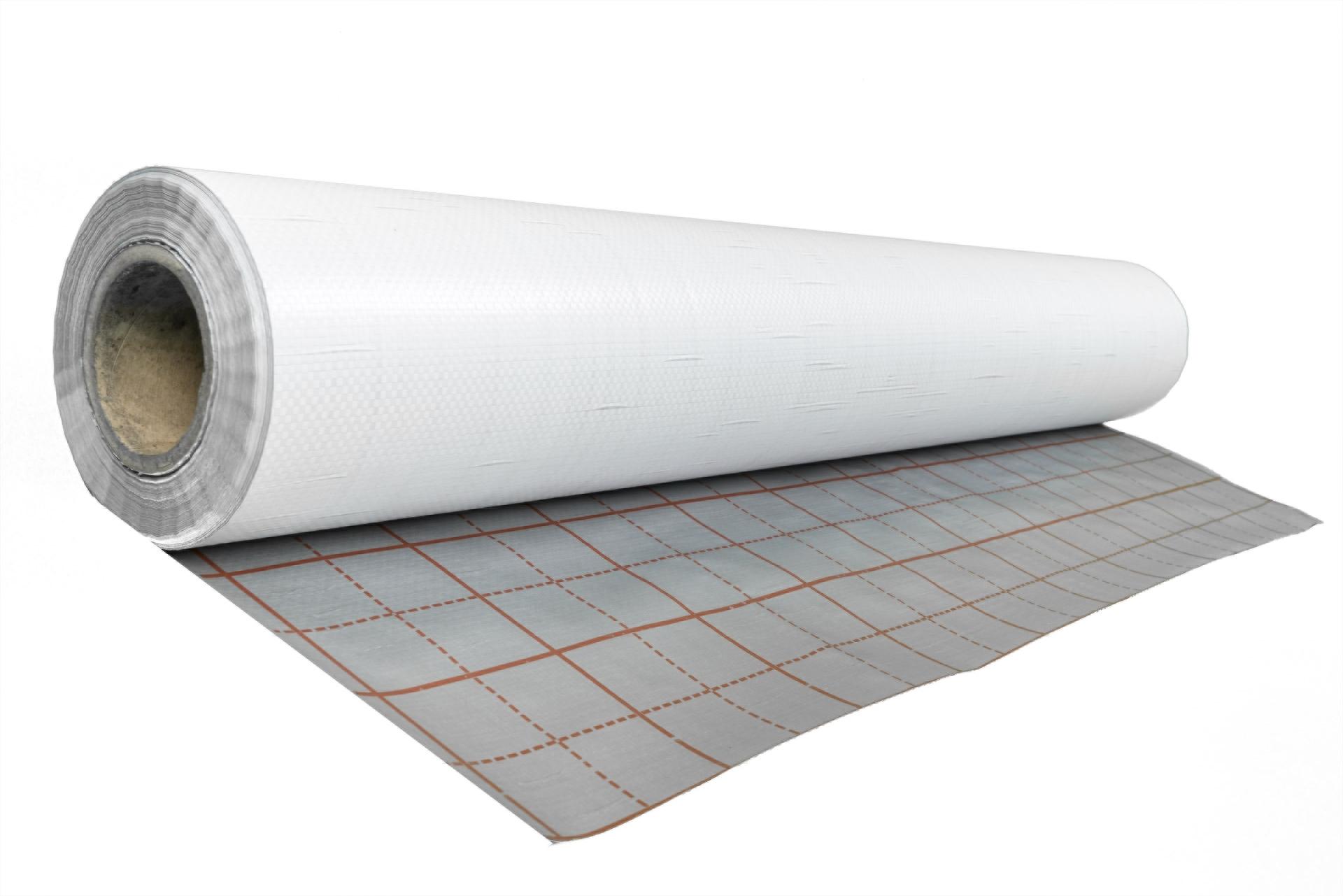 Rolle Fußbodenheizung Trockenbau 100 m² PE-Abdeckfolie 0,2 mm