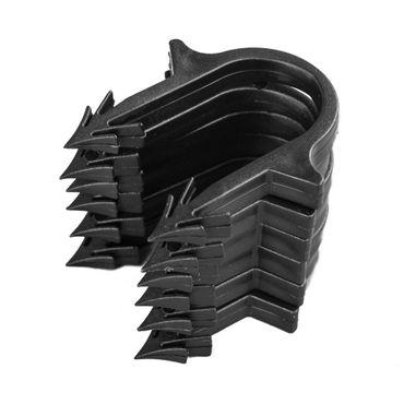 300 Stück Heizrohrclips | magazinierte Tackernadeln zur Rohrbefestigung auf Dämmung | Rohre bis ø20mm
