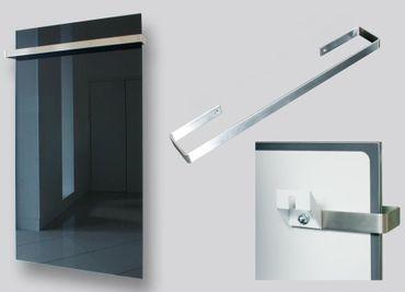 Handtuchhalter für Jollytherm Infrarot Glasheizkörper | Heizpaneel mit 55cm Breite – Bild 1