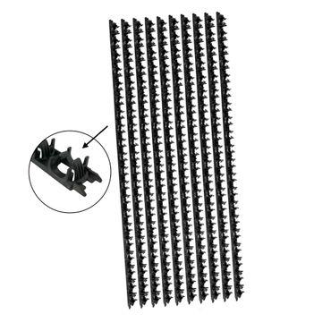 Klemmschienen ø14-17mm mit Klebung für Fußboden- oder Wandheizung | 10-100 Stück – Bild 1