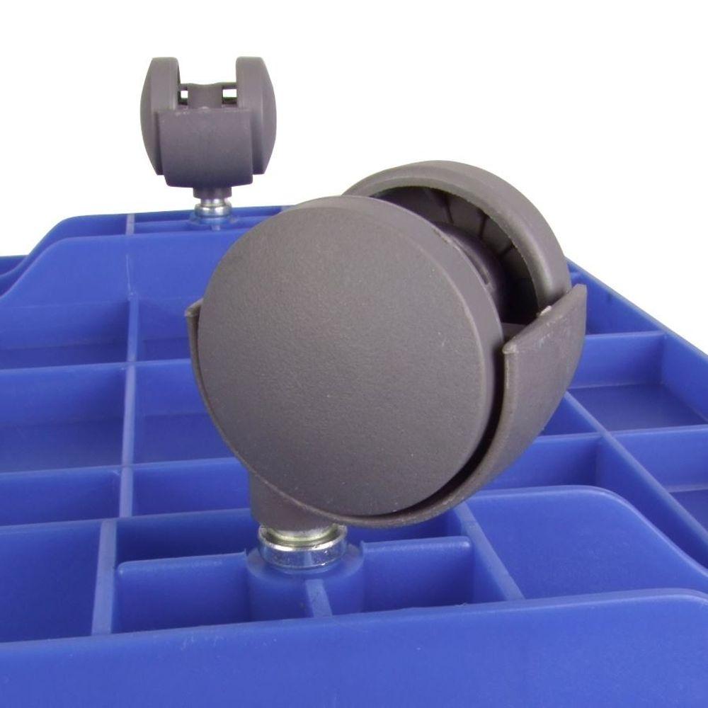 150 Liter Jumbo Rollenbox Aufbewahrungsbox Rollkiste Allzweckbox Kiste Deckel – Bild 4