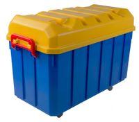 150 Liter Jumbo Rollenbox Aufbewahrungsbox Rollkiste Allzweckbox Kiste Deckel 001