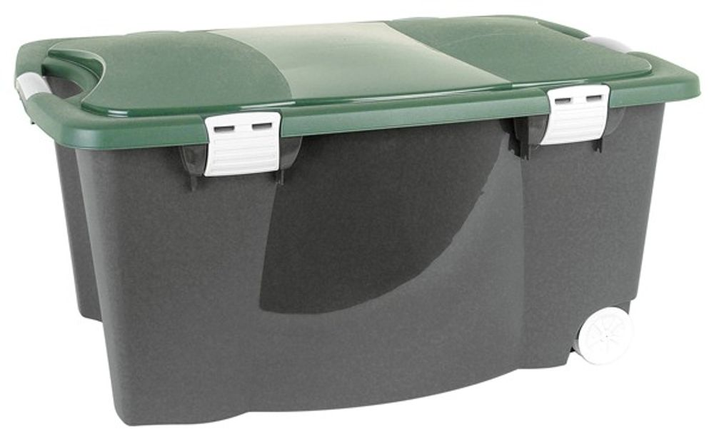 Allzweckbox mit Rollen Aufbewahrungsbox Universalbox Rollbox Spielzeugkiste Neu