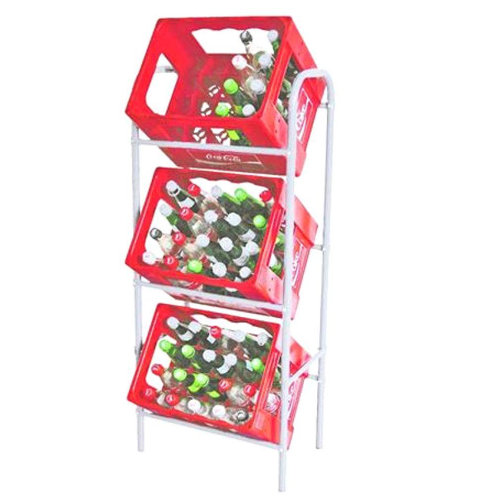 Flaschen Kastenständer Getränkekistenregal Kisterständer Kistenhalter Regal