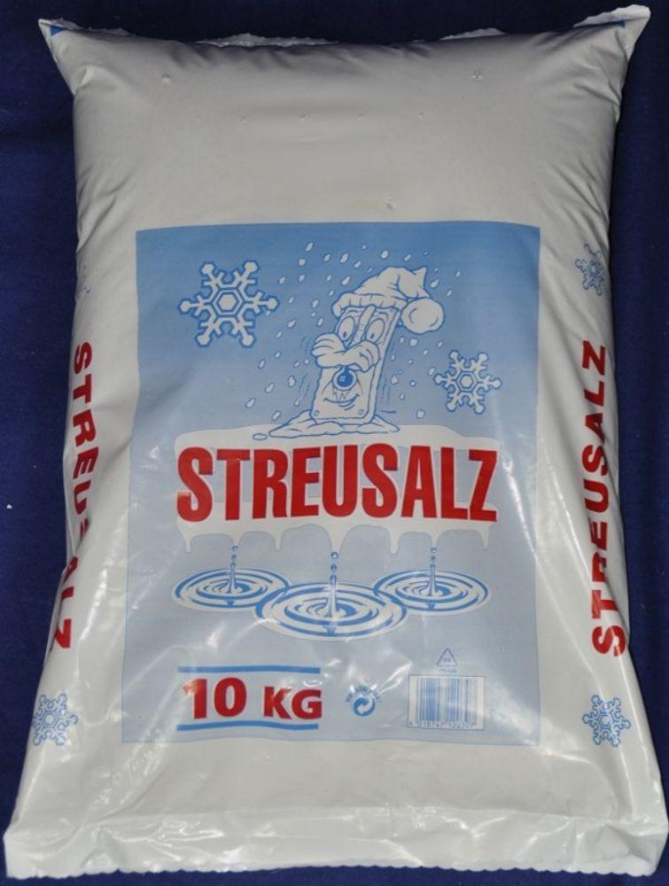 10Kg Sackware Streusalz eingeschweißt  (Kg=1,49€)