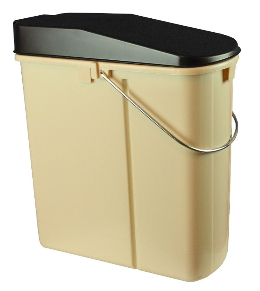 Auszugseimer 14+5Ltr.beige/braun