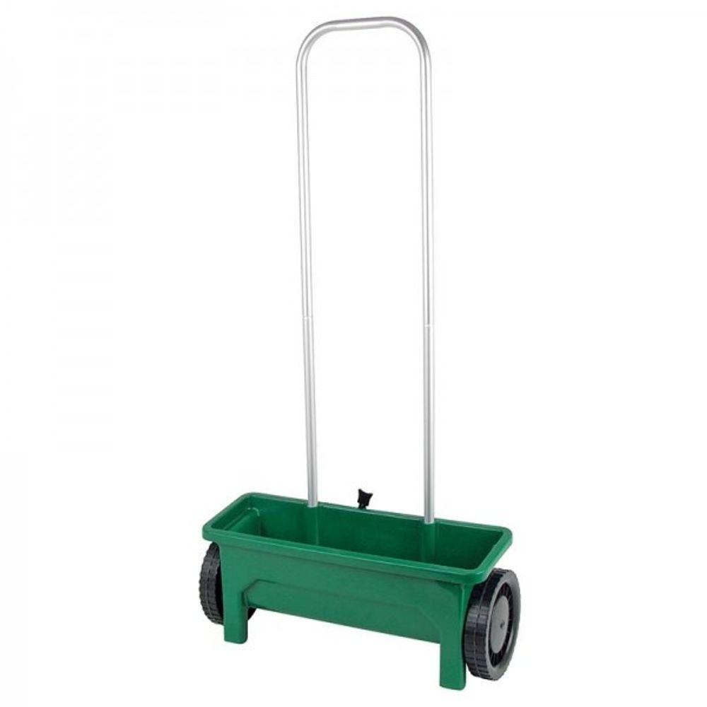 Streuwagen für Saatgut Dünger Salz Rasen