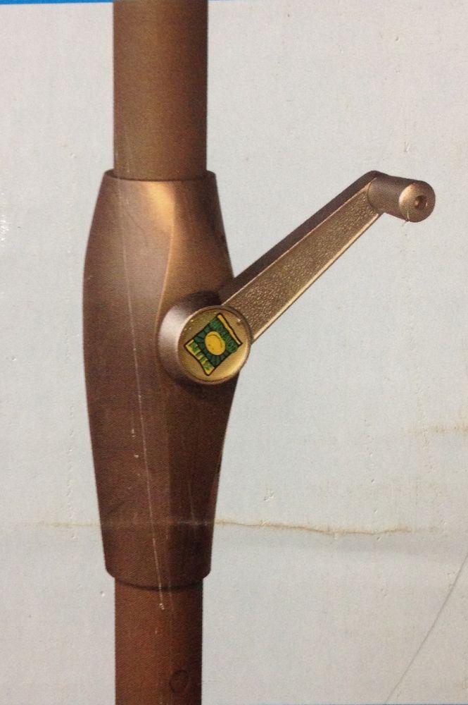 CONSUL GARDEN ALU-MARKTSCH.300CM Alu-Marktschirm M.kurb.anth/grün – Bild 3