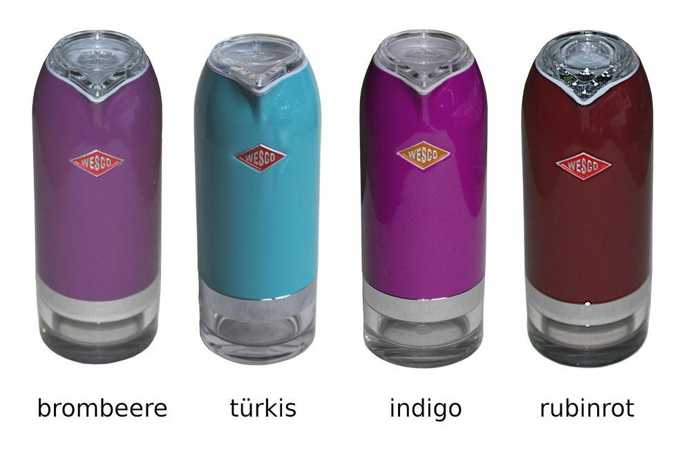 WESCO Ölflasche Essigspender Milchkännchen Zuckerdose Menage Dosierer Spender  – Bild 4