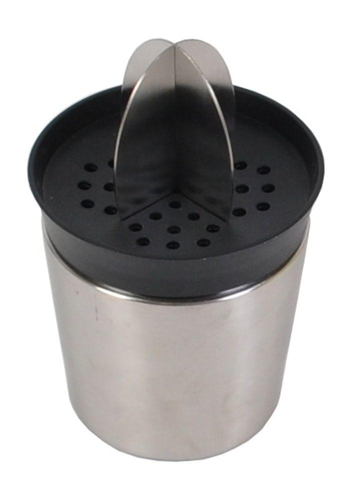 Edelstahl Saftpresse 0,6 Liter Trinkbecher Entsafter Zitruspresse Fruchtpresse  – Bild 1