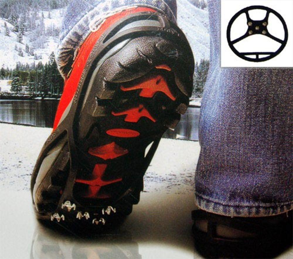Schuhspikes Kinderschuhe Gr.S 30-35 Eiskrallen Schuhkrallen Schneeschuhe Spikes – Bild 1
