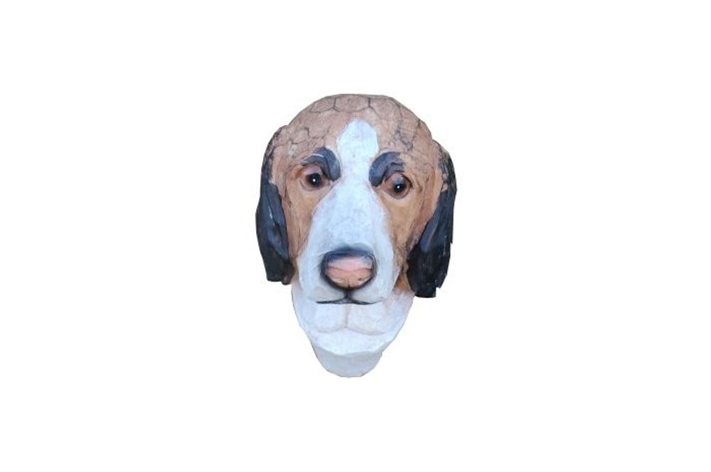 Hundekopf Busch und Heckendeko – Bild 1