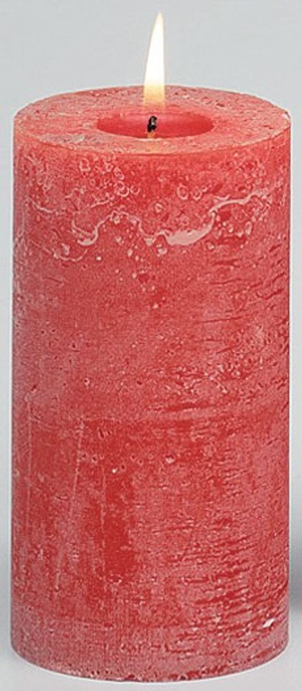 bolsius. Colour your home BOL Stumpenkerze 103867590341 Stumpen Rot 130x68