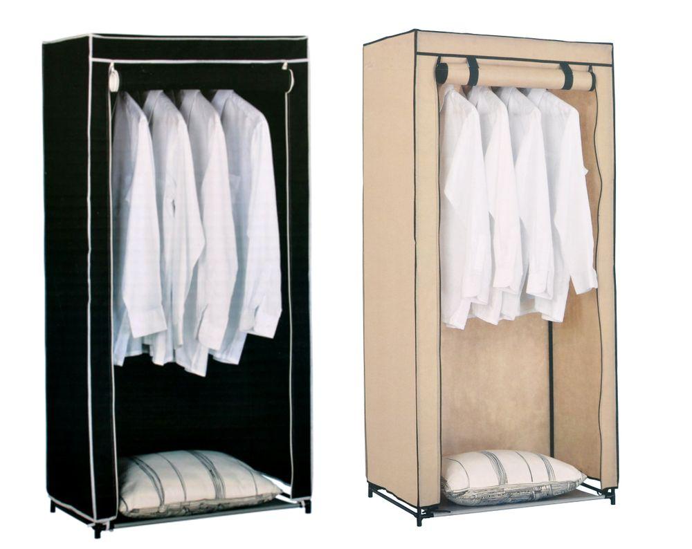 Textil Kleiderschrank Stoffschrank Faltschrank Campingschrank Garderobe Schrank – Bild 1