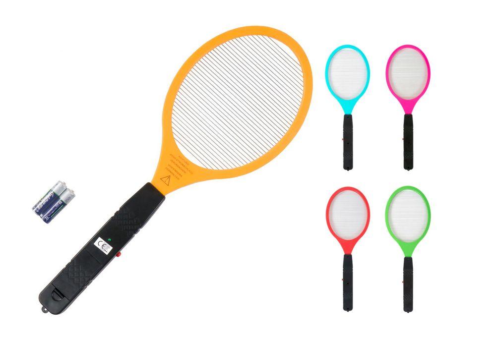 Elektrische Fliegenklatsche 50cm inkl. Batterien Insektenvernichter Mückentöter – Bild 1