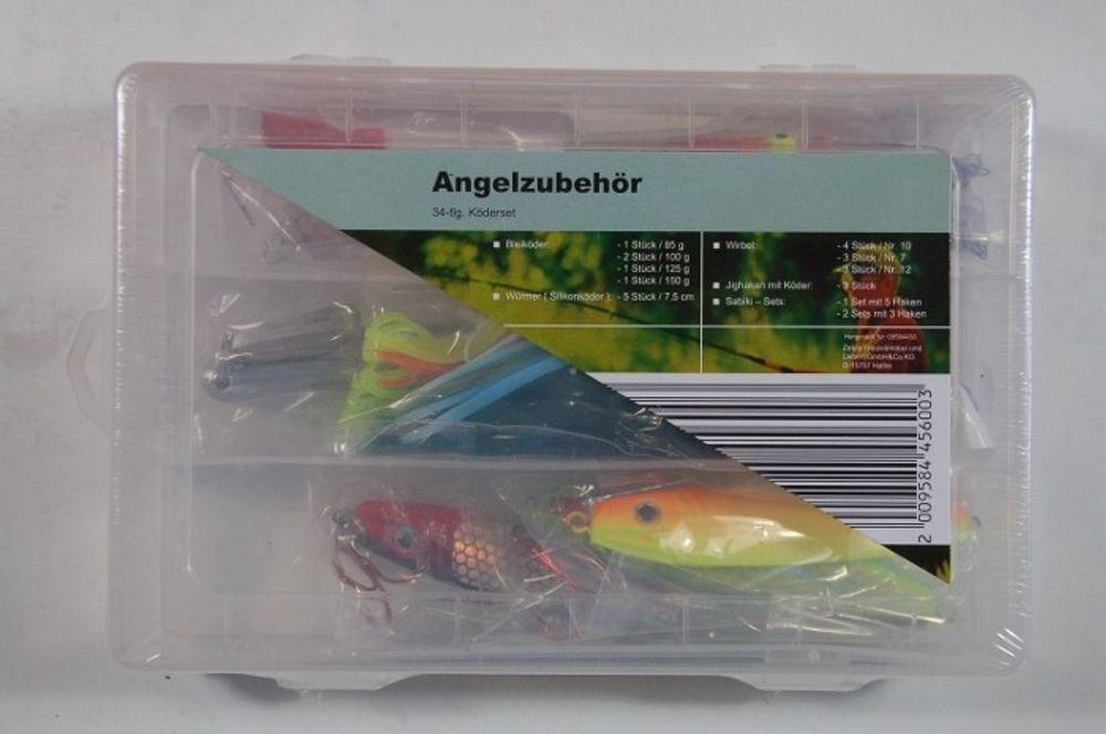 Angelzubehör-Set 34teilig