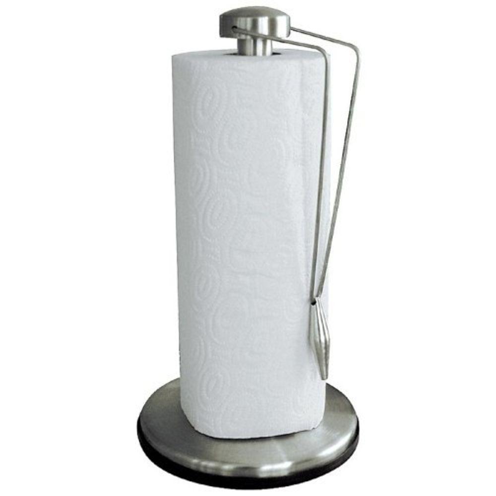 Edelstahl Rollenhalter Küchenrollen Papierabroller Küchenrollenhalter Abroller