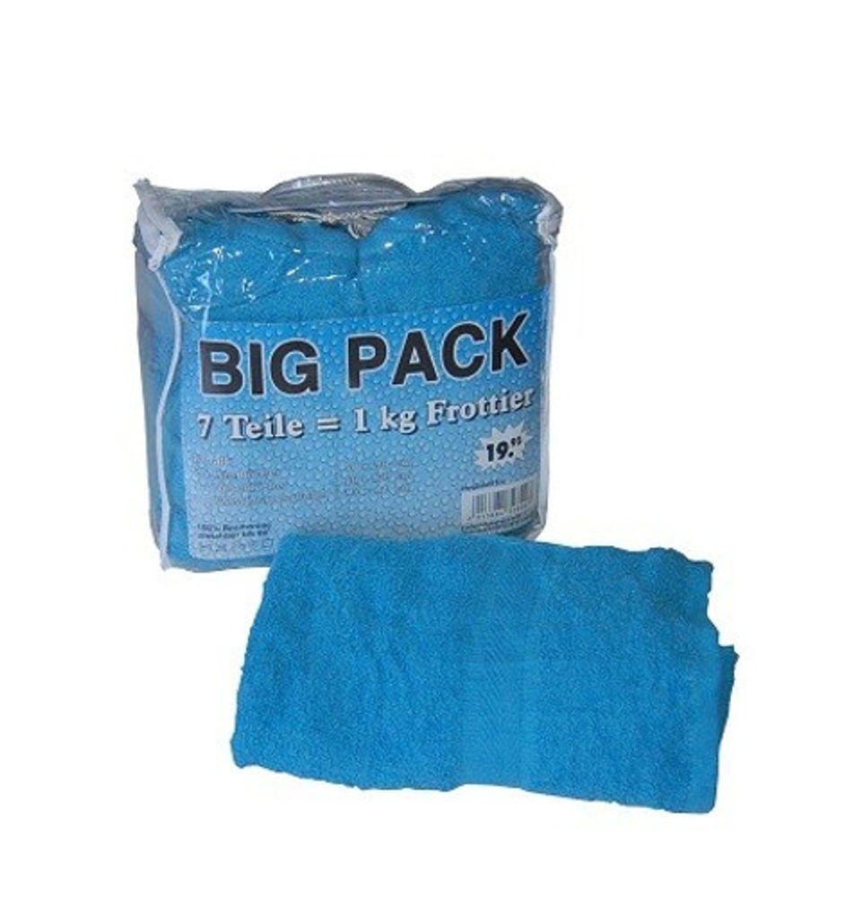 BIG Pack Handtuchset 7tlg. Frottee in diversen Farben – Bild 4