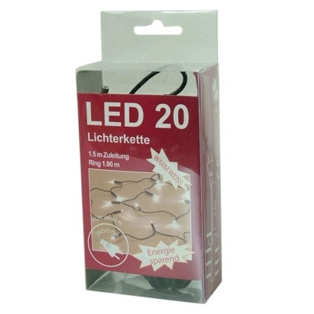 LED Lichterkette 20 Lichter