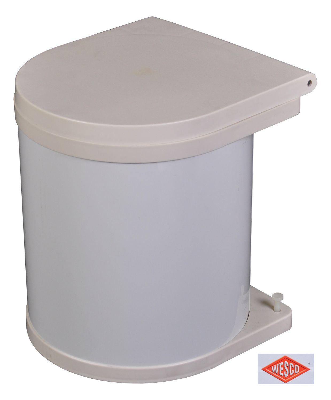 Wesco Einbau Abfallsammler 5 Liter Mülleimer Müllsammler Schrank ...