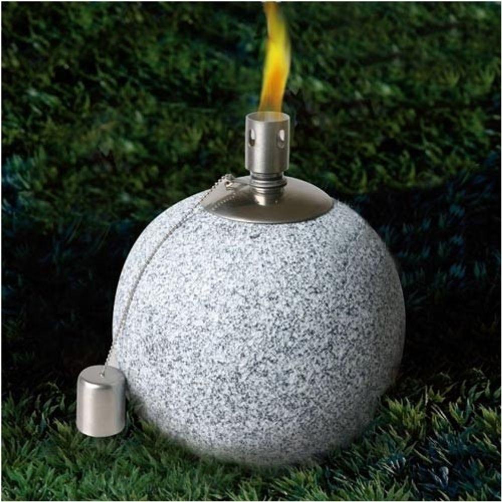Kugel Öllampe Öllicht Lampe Laterne Gartenlampe Gartenlaterne Gartenfackel Licht