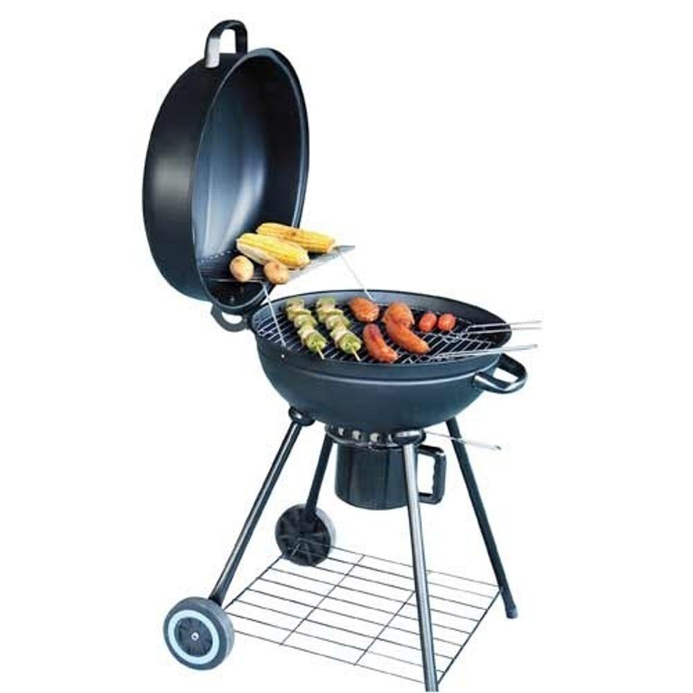Barbecue Standgrill mit Deckel – Bild 1