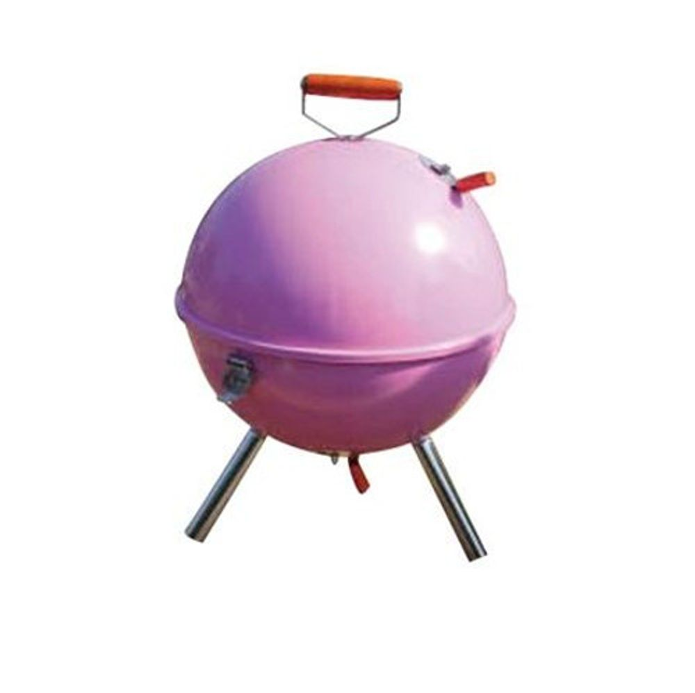 Barbecue Kugel-Tischgrill Campinggrill Picknickgrill Holzkohlegrill Standgrill – Bild 2