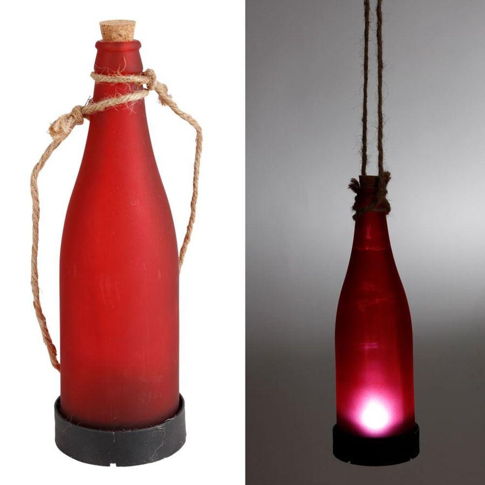 LED-Flaschenleuchte Stimmungslicht Garten-Dekolicht Solarlampe Flaschenlicht – Bild 4
