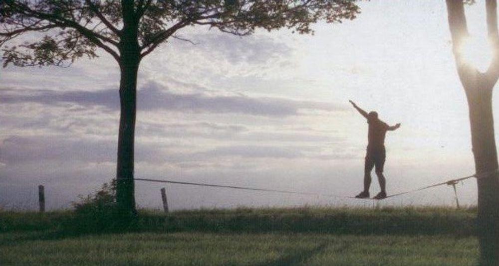 Sport Slackline 15 Meter – Bild 2