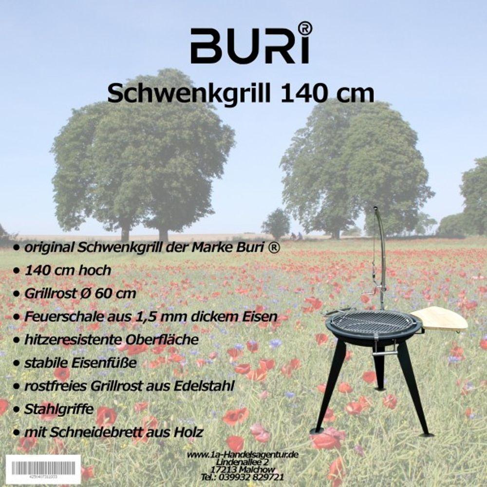 Schwenkgrill 140 cm der Marke Buri ® – Bild 1