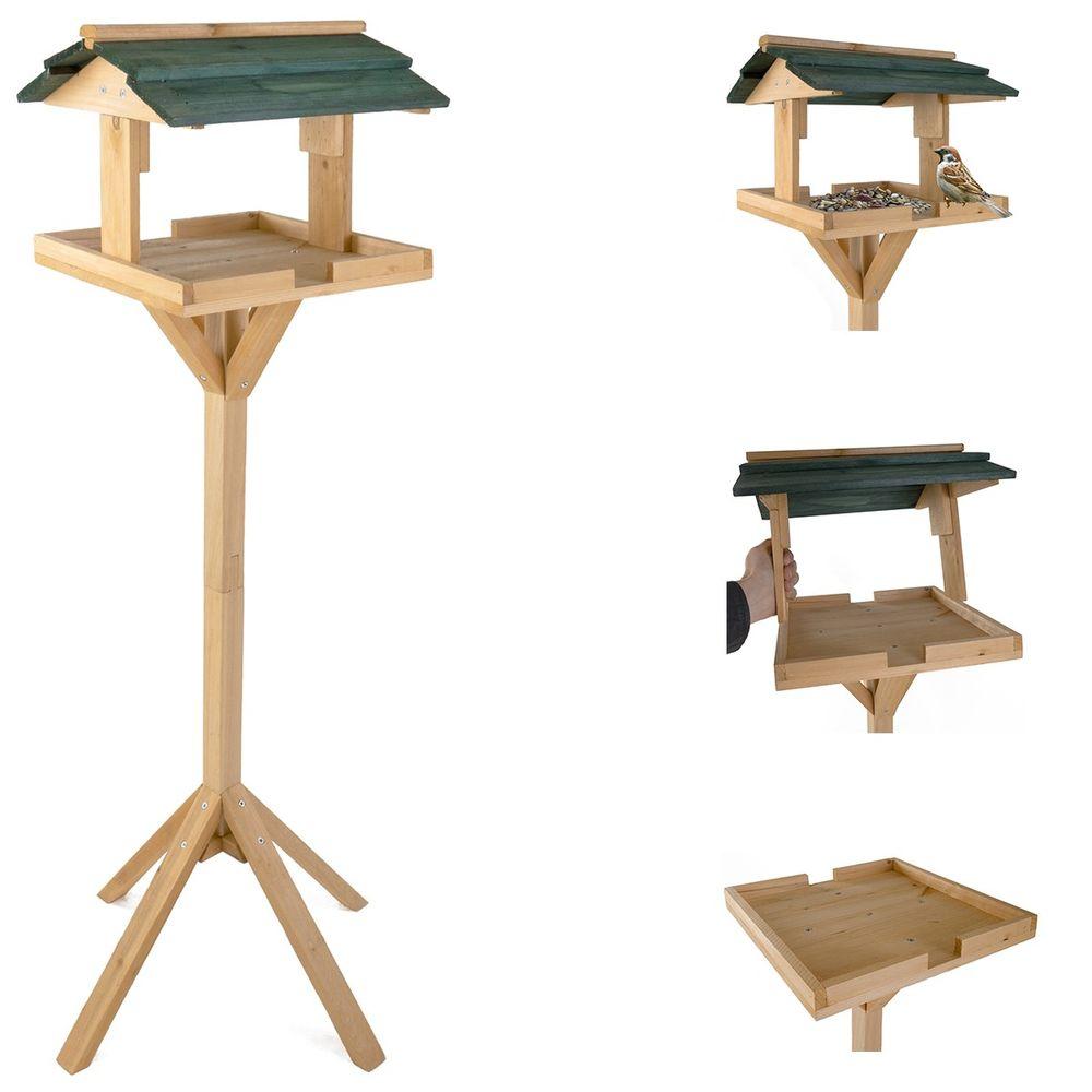 Vogelfutterhaus Vogelhäuschen Futterkrippe Futterstation Vogelfutterstation Neu  – Bild 1