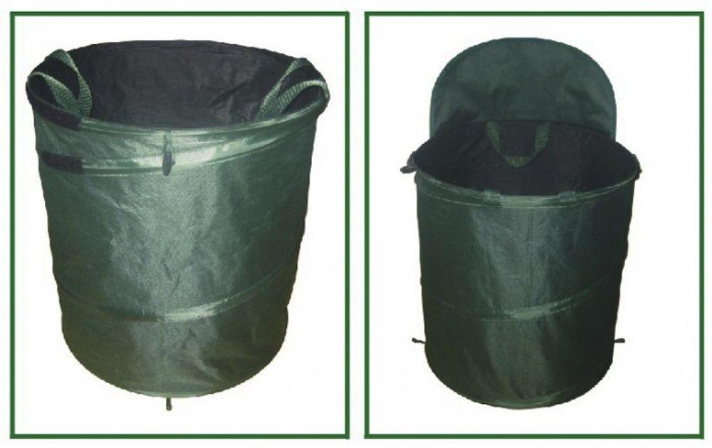 Garten Abfallbehälter mit Schaufelfunktion